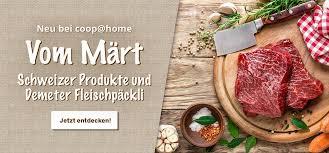 Einkaufen Von Zu Hause Coop Home Homepage