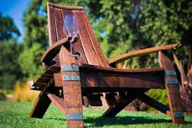 hand crafted wine barrel furniture by by gordon living