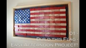Wooden American Flag Wall Hanging How To Build This American Flag Easy Diy Project Youtube
