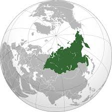 Central And Northern Asia Political Map by North Asia Wikipedia