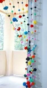 Curtains With Pom Poms Decor 32 Lovely Pompom Décor Ideas For Your Interior Digsdigs Cool