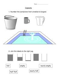 capacity worksheet by indigo987 teaching resources tes