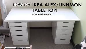 How To Say Ikea How To Set Up Ikea Alex Linnmon Drawers For Beginners Throwback