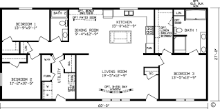 1 Bedroom Modular Homes Floor Plans by Home Bristol 92592k Kingsley Modular Floor Plan Fairmont Homes