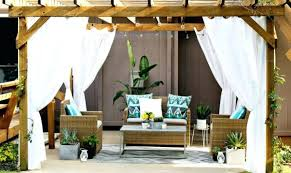 Outdoor Curtains Lowes Designs Outdoor Curtains For Patio Outdoor Patio Curtains Lowes