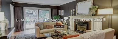 home interior sales representatives toronto real estate in the beaches thomas neal sales