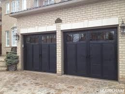 black garage doors with windows geekgorgeous com