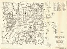 Old Texas Map General Highway Map Tarrant County Texas Fort Worth The Old