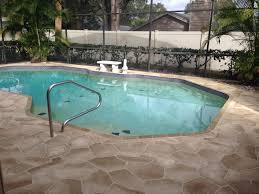 concrete designs florida flagstone pool deck what a beautiful new