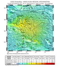 Washington State Earthquake Map by October 2015 Hindu Kush Earthquake Wikipedia