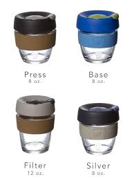 keepcup brew glass travel cup prima coffee