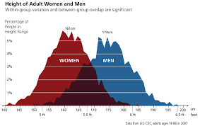picture height sports sex differences