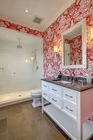 30 best wallpaper images on pinterest fabric wallpaper bathroom