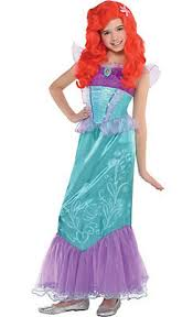 Princess Halloween Costumes Kids Disney Princess Ariel Costumes Kids Party