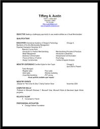 fashion merchandising cover letter internship amx programmer cover