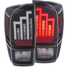 toyota usa customer service anzo usa toyota tacoma 16 17 l e d tail lights black