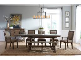 The Foundry Home Goods by Kincaid Furniture Foundry Formal Dining Room Group Belfort