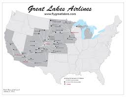 Map Of Great Lakes Route Map