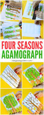 four seasons agamograph template easy peasy and fun
