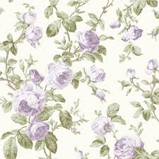Shabby Chic Wallpapers by Wow Shabby Chic Lilac Purple Rose Vintage Floral Wallpaper