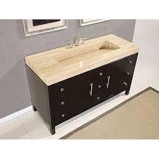 wonderful silkroad 60 inch travertine top bathroom vanity roman