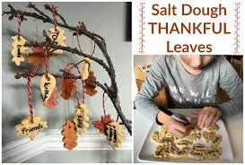 diy salt dough thankful leaves the imagination tree