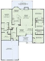 european style house plan 4 beds 2 00 baths 1930 sq ft plan 17 1114