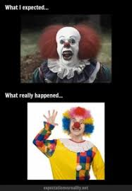 Scary Goodnight Meme - dressing up as a scary clown meme guy