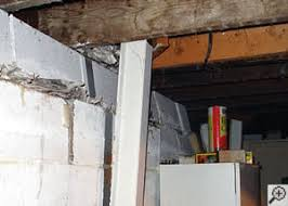 repairing u0026 straightening tilting foundation walls in pa and nj