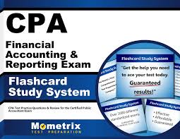 cpa financial accounting u0026 reporting exam flashcard study system