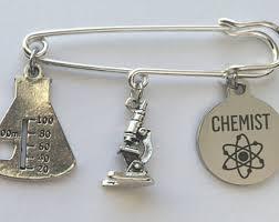 chemist earrings scientist chemist etsy