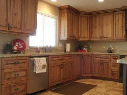 kitchens with cherry cabinets and stainless steel appliances u2014 the