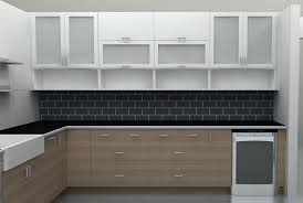 Frosted Glass Kitchen Cabinet Doors Glass Design For Kitchen Cabinet Contemporary Kitchen By Design