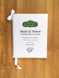 of honor planner of honor wedding planner custom of honor planning