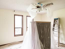remove a popcorn ceiling tos diy