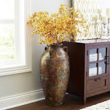 clear glass floor l very tall clear glass floor vase arrangement ideas google search l