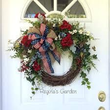 country wreaths for front door patriotic wreath summer memorial day