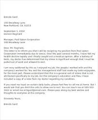 immediate resignation letter sample immediate resignation letter