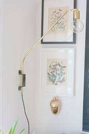 wall mount swing arm lamp best 25 wall lamps ideas on pinterest wall lights wall