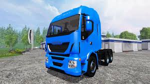 iveco stralis hi way v1 5 1 for farming simulator 2015
