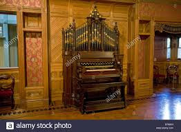 organ in the ballroom winchester mystery house san jose stock
