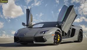 Lamborghini Aventador Open Door - grigio telesto lamborghini aventador doors open sssupersports