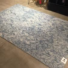 wool rug new west elm vines wool rug in blue lagoon 6 u0027 x 9 u0027 nwt free