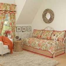 Daybed Coverlet Floral Flourish Bedding Quilt Set Walmart Com