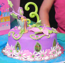 tinkerbell 3rd birthday cake cakecentral
