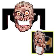 zombie toilet paper holder decoration