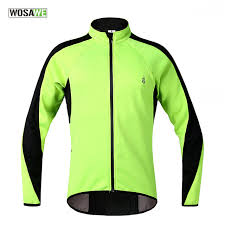 warm cycling jacket wosawe thermal fleece cycling jackets wind coat winter waterproof