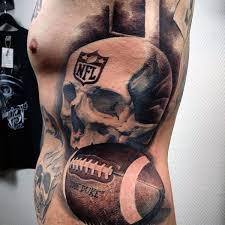 70 football tattoos for men nfl ink design ideas