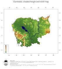 Map Of Cambodia Map Cambodia Ginkgomaps Continent Asia Region Cambodia