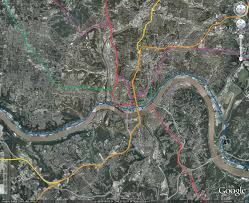 Metro Map Google by Metro Cincinnati Routes And Maps